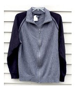 Men's CALVIN KLEIN Jeans large LG Dark Grey and Black Shirt - $29.20
