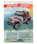 """Vintage JEEP """"Toughest 4 Letter Word"""" 1973 Racing Advertisement +FREE Ad! - $11.83"""