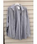 Men's CALVIN KLEIN Xtra-Large (XL), Light Grey Shirt - $29.20