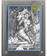 """Signed Don Paresi Zombie Horror """"Experimental Love"""" 4 Part Puzzle Tradin... - $33.55"""
