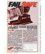Vintage SIDEWINDER Winters Transmission 1973 Advertisement +Bonus Ad FREE! - $11.83