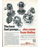 Vintage HOLLEY CARBS ~ COLT INDUSTRIES 1973 Advertisement +FREE Ad! - $11.95