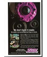 Vintage ZOOM Clutches Gears Flywheels 1973 Advertisement +Bonus Ad FREE! - $11.83