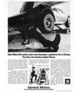 Vintage GM General Motors 1973 Advertisement with 1973 Corvette +FREE Ad! - $11.83