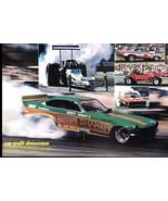 Vintage KOSTY IVANOF's BOSTON SHAKER Vega 1973 Racing Photo Page Spread ... - $11.83