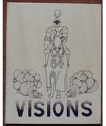 VISIONS 1984 Ellington CT Connecticut High School 1984 Yearbook~Very CLEAN - $88.06
