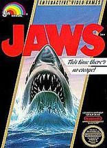 Jaws  (Nintendo, 1987) - $15.79