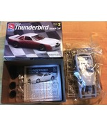 #6296 AMT Ford Thunderbird Stock Car 1/25 Scale Plastic Model Kit - $19.78