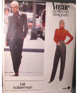 Vogue 2596 Misses Pants Suit & Blouse Size 14 ONLY by Bill Kaiserman - $6.99