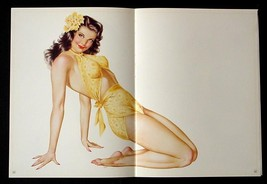 Vintage Lot of 7 Vargas Pin-up Posters  Incredibly Sexy 1945 Esquire Lad... - $49.97