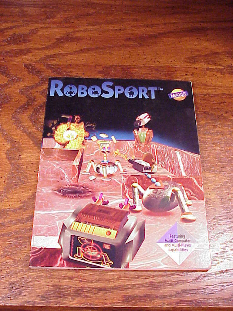 robosport vintage pc game user manual and 50 similar items rh bonanza com Operation Torch World War II Siege of Malta