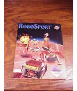 RoboSport Vintage PC Game User Manual Instruction Book only - $6.95