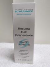 DR.SCHRAMMEK  RESVERA CELL CONCENTRATE BEAUTY ELEMENTS  1.0FL.OZ /30ML - $68.00