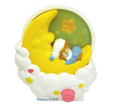 Vintage 1985 Fisher Price Nounours Beddy Ours Musical Berceau Jouet 894 ... - $26.77