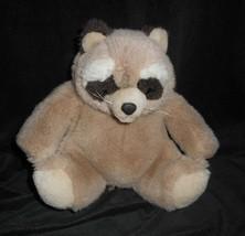 """9 """" Vintage 1985 Gund Braun Bandit Raccoon Plüschtier Spielzeug #2401 Lovey - $17.59"""