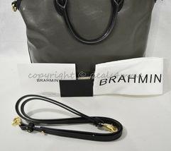 NWD Brahmin Large Duxbury Satchel/Shoulder Bag in Charcoal Westport image 11
