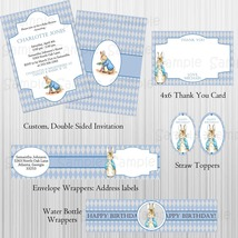 Peter Rabbit Complete Printable Party w/ invite, baby shower, birthday, ... - $20.00
