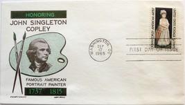 September 17, 1965 First Day of Issue, Ken Boll Cover, John Singleton Co... - $1.98
