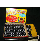 Vtg 1957 Transogram Anagrams Word Plastic Tiles Game Toy Excellent COMPLETE - $25.65