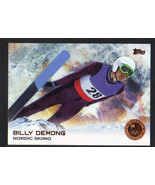 2014 Topps Winter Olympics Bronze Medal #23 Billy Demong Nordic Skiing - $2.29
