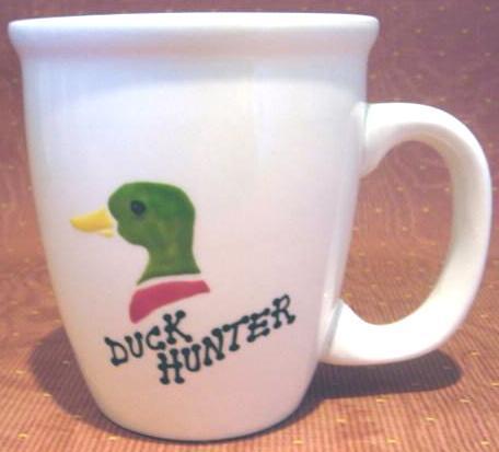 Mallard duck mug