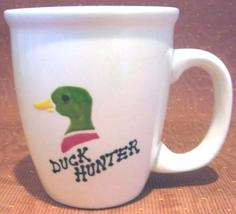Personalized Ceramic Mug Mallard Duck Handpainted - $12.50