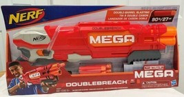 Nerf N-Strike B9597  Mega Elite DoubleBreach Blaster  w/ 6 Darts  Hasbro NEW - $44.34
