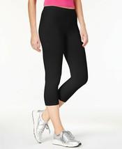 HUE Cotton Capri Leggings, Black, XXXL (size 22-24) - $19.99