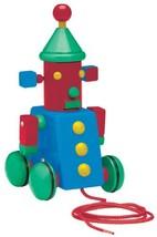 Basic Fun David Kirk Space Robot Pull Toy - $30.85