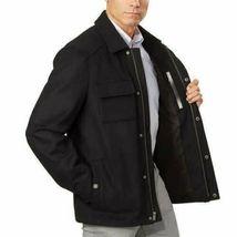 Pendleton Men's Black Cascade Wool Blend Zip up Jacket Coat Large New w Tags image 3