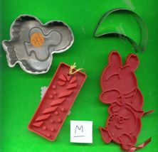 Lot of Aluminum and Plastic Cookie Cutters .....M - $6.00