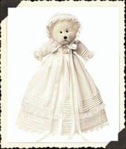 "Boyds Bear ""Blessed B. Babybear"" #903100""- 8"" Plush Bear- NWT- 2002-  Retired - $29.99"