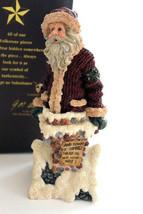 "Boyds Folkstone ""Jolly Ol' St. Nick.. Too Many Cookies "" #28007*1E*NIB* 2001 - $24.99"