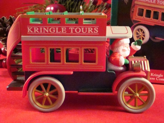 Hallmark 1992 Kringle Tours  New QX434-1