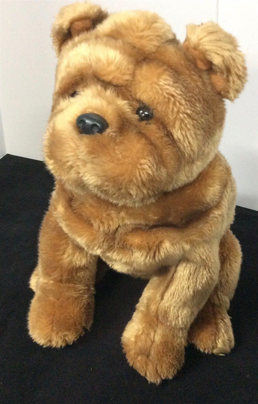 Ty Beanie Buddies Bull Dog Wrinkles Plush Buddy Puppy 2004 Stuffed Animal Doll