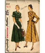 UNCUT Vintage 1940's Simplicity #2521 Women's C... - $25.00