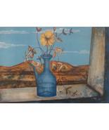 French Artist Pierre Henry Lithograph Print Pencil Sign b1931 List Ltd E... - $199.00