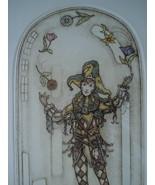 Alice Scott Morris Etch Juggler Of Flowers 1990 Plate Pencil Sign Ltd Ed... - $149.00