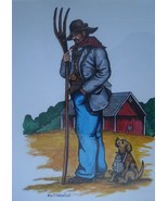 Alan Archambault Art Watercolor Painting Signed Fort Lewis Museum Direct... - $99.00