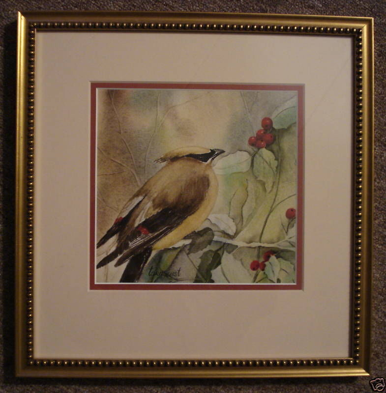 Dragana Tornquist Newport RI Artist Watercolor Painting Signed 01332