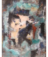Ashley Marcus Art Abstract Painting Home Decor Signed 01504 - $329.00