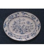 Dresden China Platter Furnival Blue Onion Pattern Dinnerware 01663 - $99.00