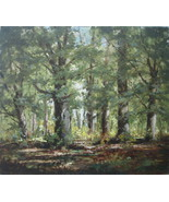 Joseph Lane Landscape Painting b1900 Listed Artist Signed Art Home Decor... - $399.00