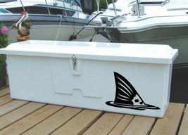 "Redfish Tail Fishing Boat Vinyl Sticker Decal 14""h x 22""w - $19.99"