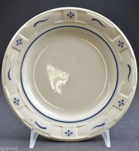 Longaberger Pottery Woven Traditions Classic Blue Bread & Butter Plate China - $25.99