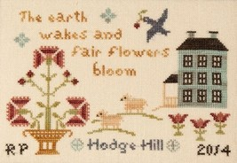 Springtime On Hodge Hill cross stitch chart Threads Of Memory   - $8.10