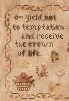 Yield Not adam and eve cross stitch chart Threads Of Memory