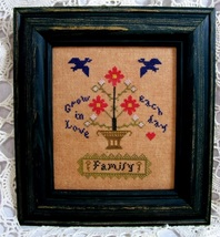 Family cross stitch chart Threads Of Memory   - $7.20