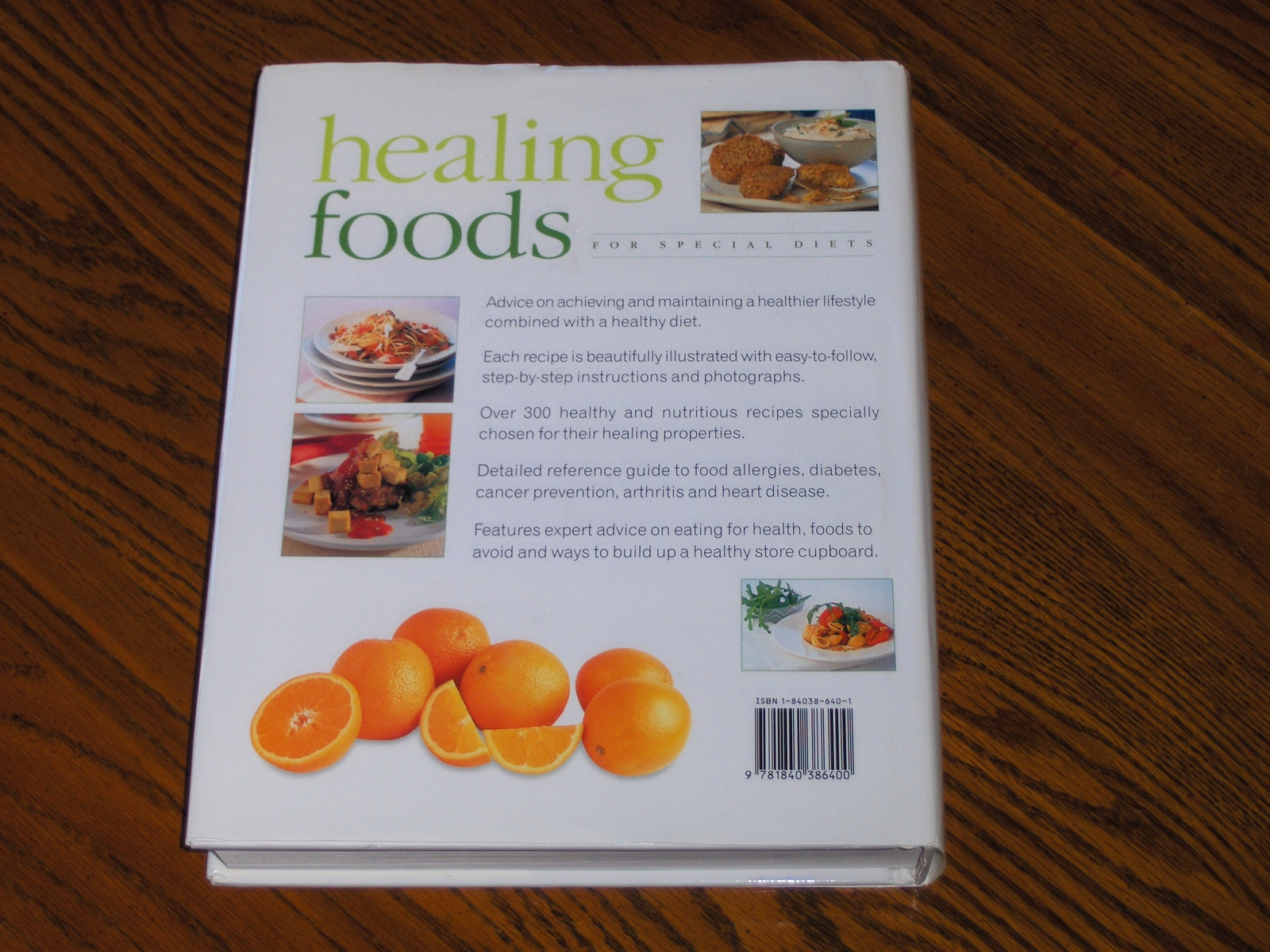 Healing foods for special diets by jill scott cookbooks for Cuisine for healing