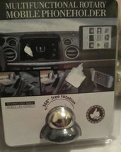 Magnetic Car Mount for Cell phone. Multifunctional, Fully Rotary. NEW in... - $7.84